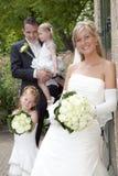 Gifta sig nytt royaltyfri foto