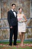 Gifta sig nytt par Royaltyfri Fotografi