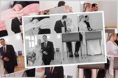 Gifta sig par royaltyfri foto