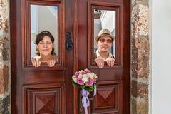 Gifta sig par I Arkivbild