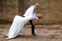 Gifta sig pardans Arkivfoton