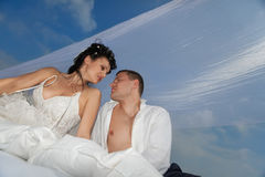 Gifta sig skottet Arkivbilder