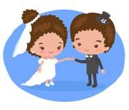 Gifta sig som förälskelse och förstå Arkivbild