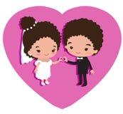 Gifta sig som förälskelse och förstå Royaltyfri Bild