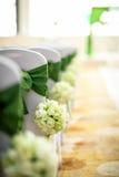 Gifta sig stol Royaltyfria Bilder