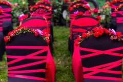 Gifta sig stol Royaltyfri Fotografi