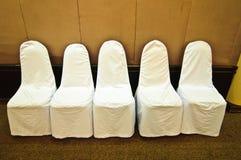 Gifta sig stolar Arkivfoto