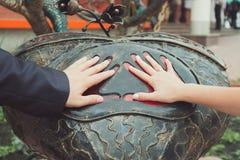 Gifta sig symboler, attribut Royaltyfria Bilder