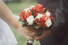 Gifta sig symboler, attribut Royaltyfria Foton