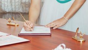 Gifta sig symboler, attribut Royaltyfri Foto