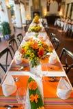 Gifta sig tabellen Fotografering för Bildbyråer