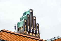 Gifta sig tornet, Darmstadt, Tyskland Royaltyfri Foto