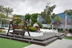 Gifta sig trädgården Arkivfoto
