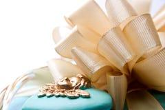 Giftbox и настоящие моменты Стоковые Изображения