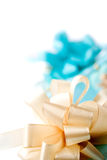 Giftbox и настоящие моменты Стоковая Фотография RF