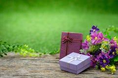 Giftbox Fotos de archivo libres de regalías