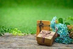 Giftbox Foto de Stock Royalty Free