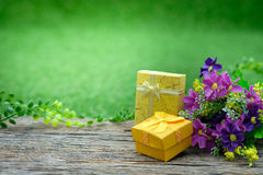 Giftbox Imágenes de archivo libres de regalías