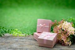 Giftbox Fotografia de Stock Royalty Free