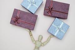 Giftbox Images libres de droits
