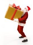Giftbox carreg Foto de Stock Royalty Free