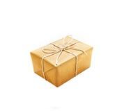 Giftbox da caixa Fotos de Stock Royalty Free