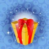 Giftbox do aniversário Fotografia de Stock Royalty Free