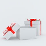 GiftBox. Dollar Can be used for advertising, illustration and more Stock Photography