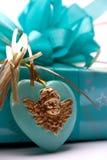 Giftbox e presente Fotografie Stock Libere da Diritti