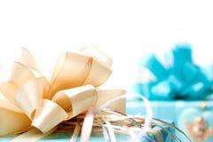 Giftbox e presentes Imagens de Stock