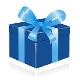 Giftbox met lint. royalty-vrije illustratie