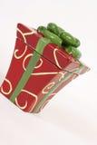 Giftbox pescó con caña Imagen de archivo libre de regalías