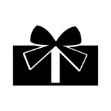 Giftbox present isolated icon. Vector illustration design Stock Image