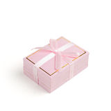 Giftbox rose Images stock