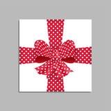 Giftbox verde Vector Foto de archivo libre de regalías