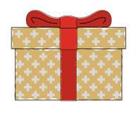 Giftbox vert illustration de vecteur