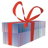 Giftbox for you Royalty Free Stock Photos