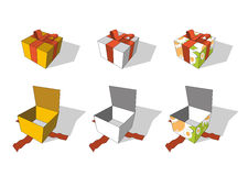 Giftboxes Royalty Free Stock Image
