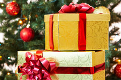 Giftboxes Stock Image