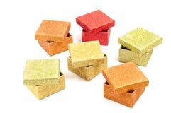 Giftboxes Royalty Free Stock Photos