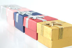 Giftboxes Stock Photography