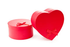 Giftboxes isolated Royalty Free Stock Images