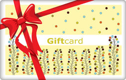 Giftcard Royalty Free Stock Photos