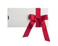 Giftcard fotografia stock