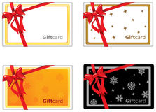 Giftcard design Stock Image