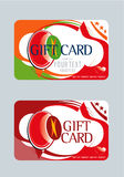 Giftcard1.eps Royalty Free Stock Image