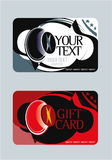 Giftcard2 Fotos de Stock Royalty Free