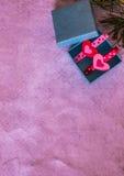 Giftdoos voor het festival Stock Foto