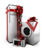 Gifted home appliances Stock Photography