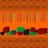 Giften voor de vakantie Kwanzaa royalty-vrije illustratie